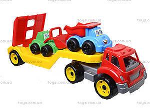 Машина «Автовоз» со стройплощадкой, 3930, детские игрушки