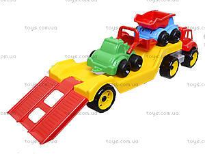 Машина «Автовоз» со стройплощадкой, 3930, магазин игрушек