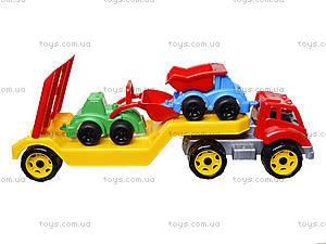 Машина «Автовоз» со стройплощадкой, 3930, toys.com.ua