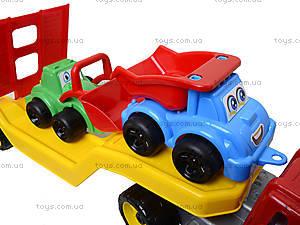 Машина «Автовоз» со стройплощадкой, 3930, toys