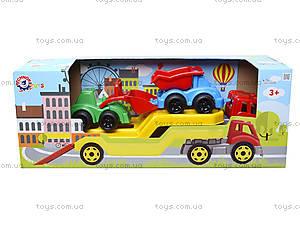 Машина «Автовоз» со стройплощадкой, 3930, іграшки