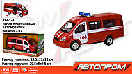 Машина АВТОПРОМ «Пожарная охрана» , 7661-1, отзывы