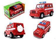 Машина АВТОПРОМ «Пожарная охрана» с эффектами , 7659-5, купить