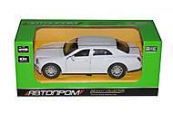 Машина Bentley Continental белая Автопром, 7740, отзывы