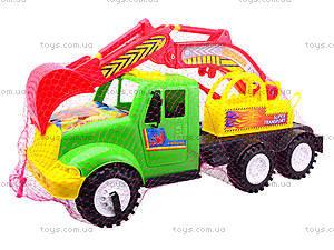 Игрушечная машина для детей «Экскаватор», 13-002-1, фото