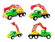 Игрушечная машина для детей «Экскаватор», 13-002-1, отзывы