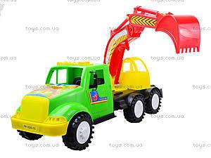 Игрушечная машина для детей «Экскаватор», 13-002-1, игрушки