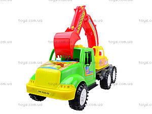 Игрушечная машина для детей «Экскаватор», 13-002-1, детские игрушки