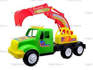 Игрушечная машина для детей «Экскаватор», 13-002-1, магазин игрушек
