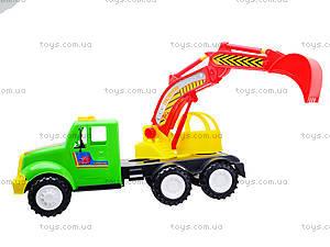 Игрушечная машина для детей «Экскаватор», 13-002-1, toys.com.ua