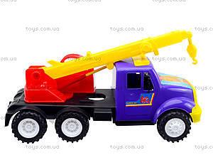 Игрушечная машина «Подъемный кран», 13-003-1, купить