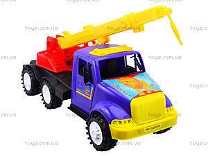 Игрушечная машина «Подъемный кран», 13-003-1, магазин игрушек