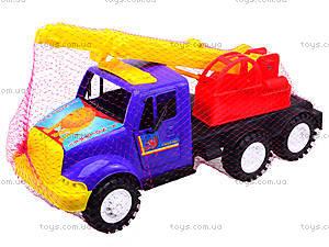 Игрушечная машина «Подъемный кран», 13-003-1, toys.com.ua