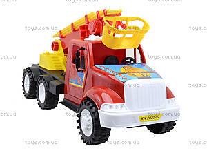 Детская пожарная машина с подъемником, 13-004-1, купить