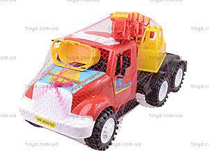Детская пожарная машина с подъемником, 13-004-1, фото