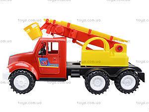 Детская пожарная машина с подъемником, 13-004-1, отзывы