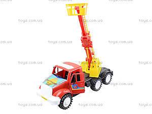 Детская пожарная машина с подъемником, 13-004-1, магазин игрушек