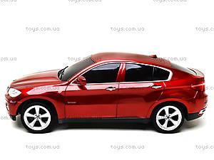 Машина BMW X6, на радиоуправлении, 866-1401B, отзывы