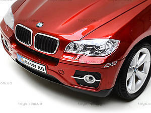 Машина BMW X6, на радиоуправлении, 866-1401B, детский