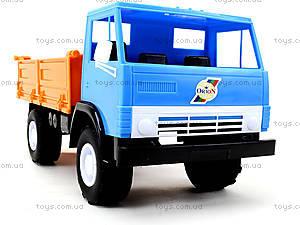 Детский игрушечный грузовик, бортовой, 010, купить