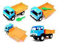 Детский игрушечный грузовик, бортовой, 010, фото