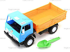 Детский игрушечный грузовик, бортовой, 010, цена