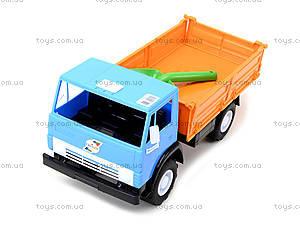 Детский игрушечный грузовик, бортовой, 010, детские игрушки