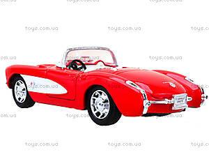 Машина Chevrolet Corvette 1957, 29393W, игрушки