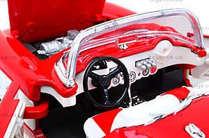 Машина Chevrolet Corvette 1957, 29393W, toys.com.ua