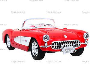 Машина Chevrolet Corvette 1957, 29393W, toys