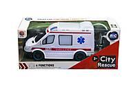 Машина «City Rescue. Полиция» на радиоуправлении , 788, отзывы