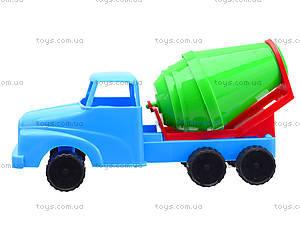 Детская машина - мини «Бетономешалка», 281, игрушки