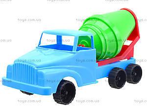 Детская машина - мини «Бетономешалка», 281, магазин игрушек