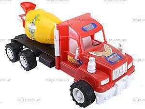 Машина детская «Бетономешалка», 15-005-1, фото
