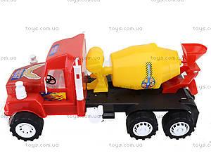 Машина детская «Бетономешалка», 15-005-1, отзывы