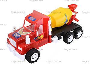 Машина детская «Бетономешалка», 15-005-1, цена