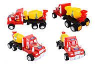 Машина детская «Бетономешалка», 15-005-1, купить