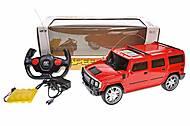 Машина Джип Хаммер на на р/у, красный, 3699-025, отзывы