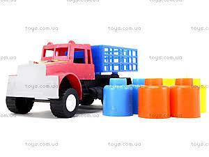 Машина для детей «Грузовик», 03-302, отзывы