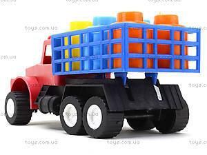 Машина для детей «Грузовик», 03-302, игрушки