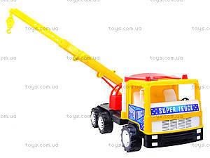 Машина для детей «Подъемный кран», 14-003-1, купить