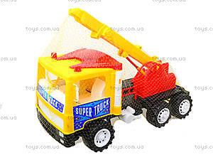 Машина для детей «Подъемный кран», 14-003-1, фото