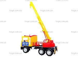Машина для детей «Подъемный кран», 14-003-1, отзывы