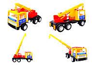 Машина для детей «Подъемный кран», 14-003-1