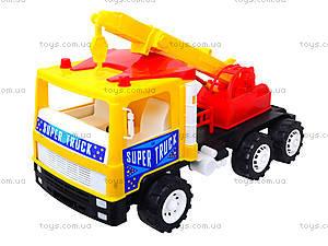 Машина для детей «Подъемный кран», 14-003-1, детские игрушки