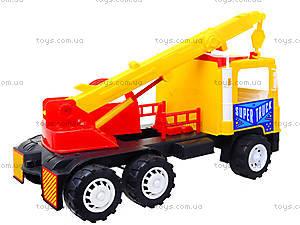 Машина для детей «Подъемный кран», 14-003-1, магазин игрушек