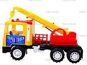 Машина для детей «Подъемный кран», 14-003-1, toys.com.ua