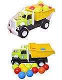 Игрушечная машина «Фарго» с 15 шариками, 12-010-4, купить