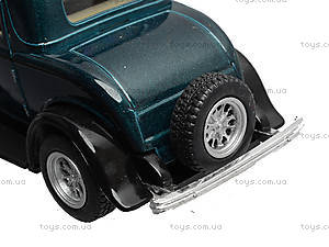 Машина Ford 3-window Coupe, KT5332W, игрушка