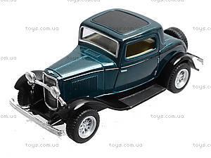 Машина Ford 3-window Coupe, KT5332W, купить игрушку